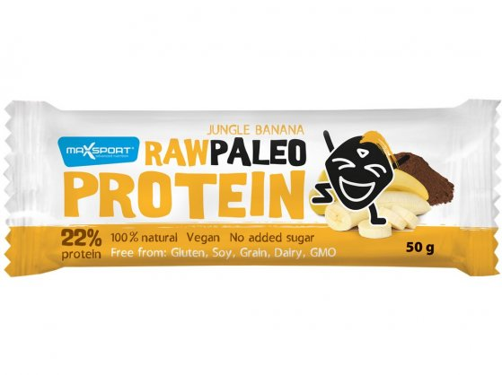 Tyčinka Raw paleo protein Jungle Banana 50g
